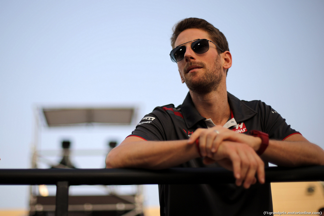 GP BAHRAIN, 08.04.2018 - Romain Grosjean (FRA) Haas F1 Team VF-18