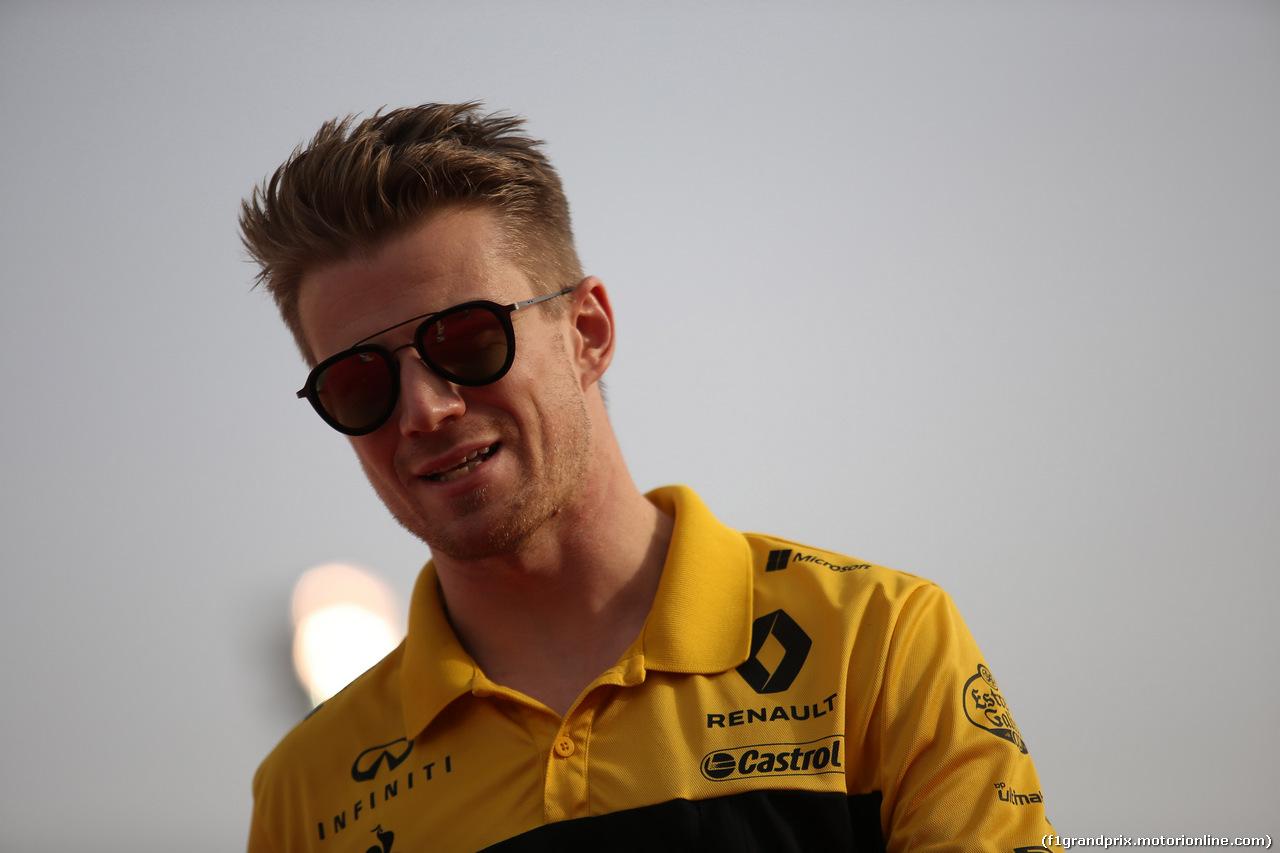 GP BAHRAIN, 08.04.2018 - Nico Hulkenberg (GER) Renault Sport F1 Team RS18