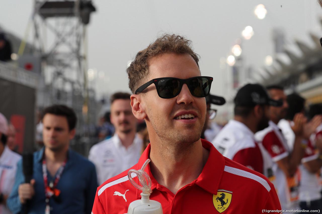 GP BAHRAIN, 08.04.2018 - Sebastian Vettel (GER) Ferrari SF71H