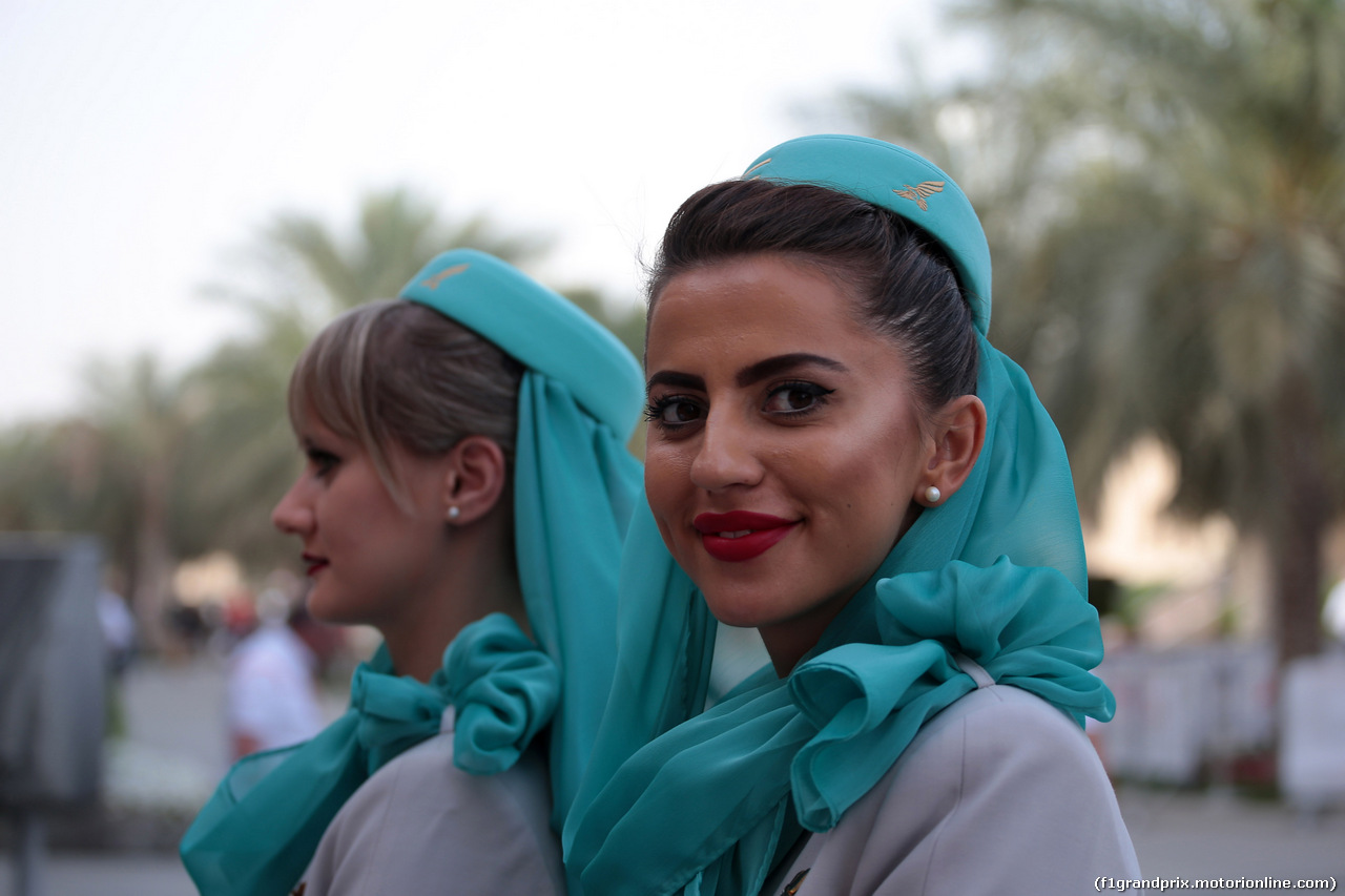 GP BAHRAIN, 08.04.2018 - Ragazzas in the paddock