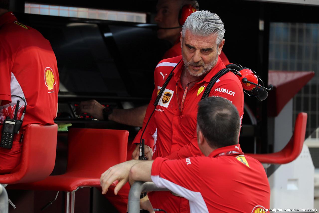 GP BAHRAIN, 08.04.2018 - Gara, Maurizio Arrivabene (ITA) Ferrari Team Principal