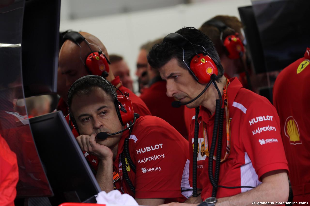 GP BAHRAIN, 08.04.2018 - Gara, Team Ferrari