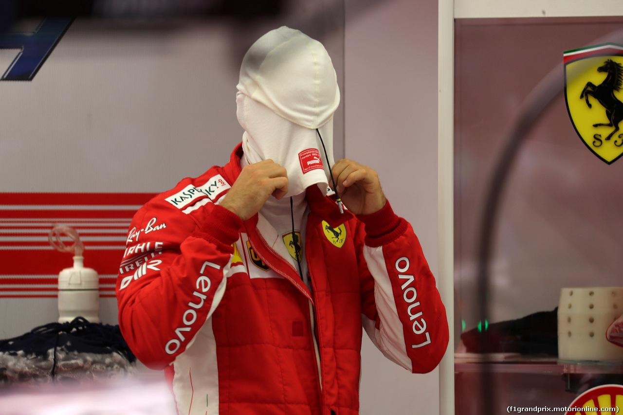 GP BAHRAIN, 08.04.2018 - Gara, Sebastian Vettel (GER) Ferrari SF71H