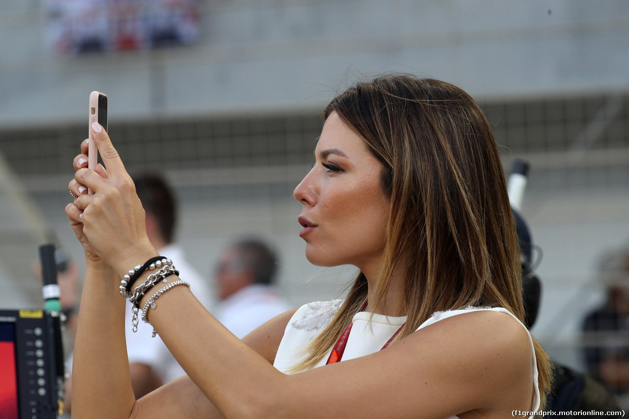 GP BAHRAIN, 08.04.2018 - Gara, Federica Masolin, Sky