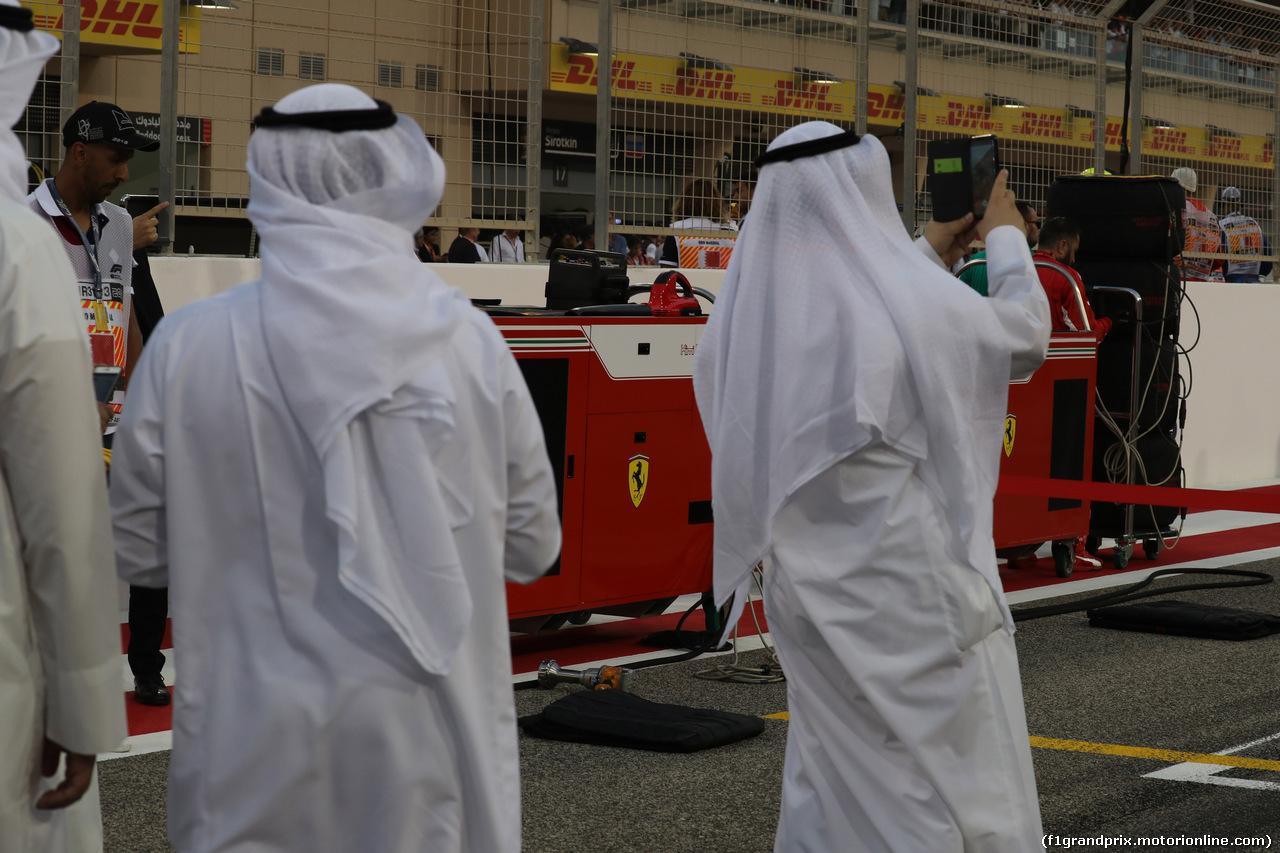 GP BAHRAIN, 08.04.2018 - Gara, Atmosphere