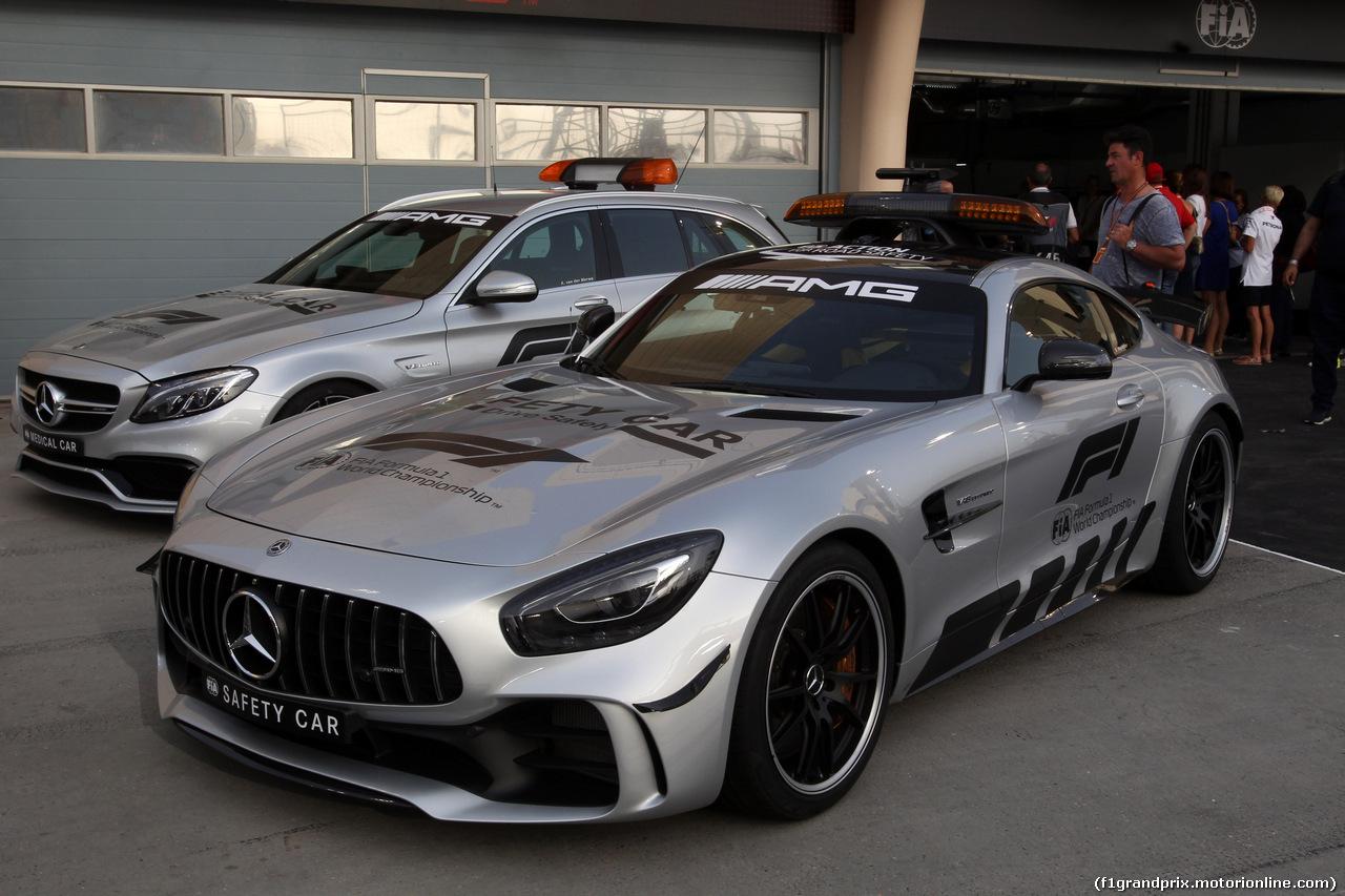 GP BAHRAIN, 08.04.2018 - Gara, Safety car