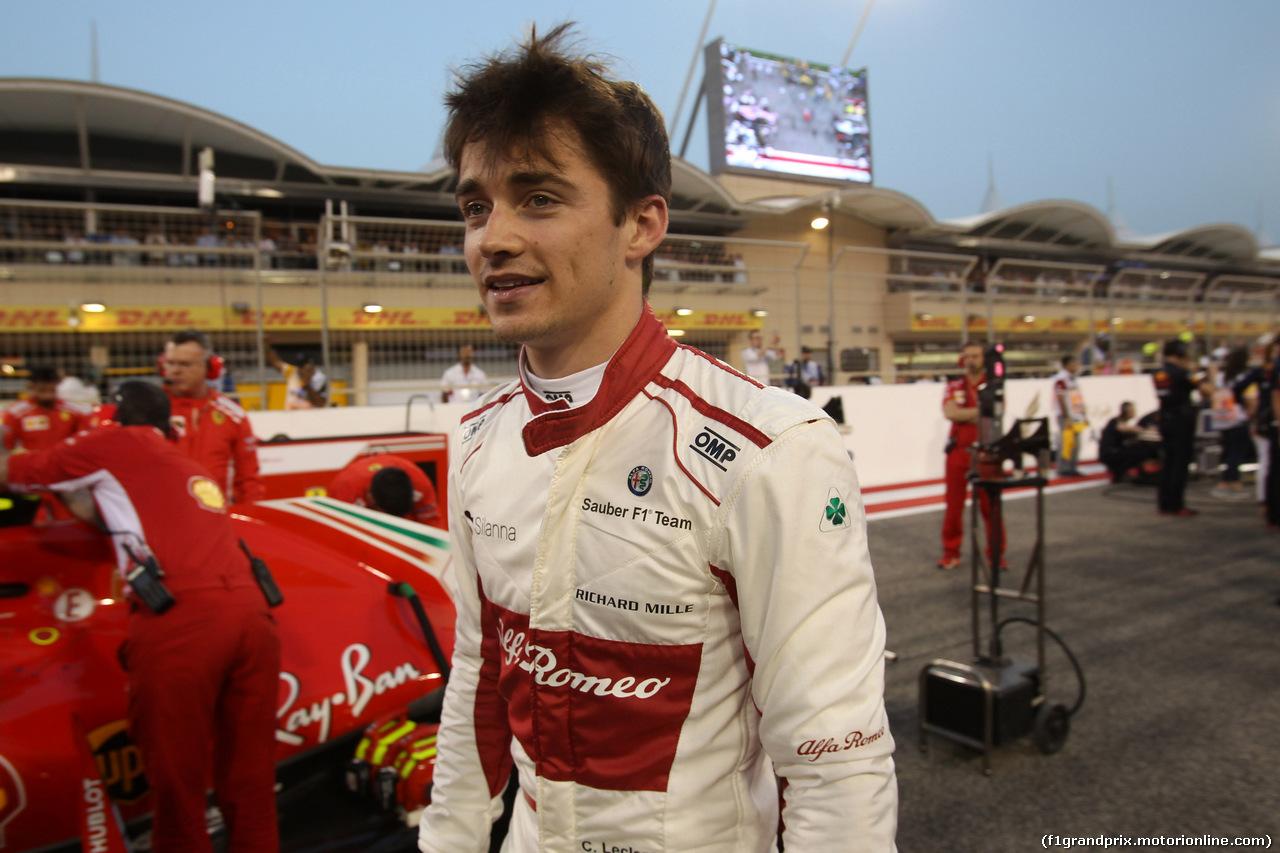 GP BAHRAIN, 08.04.2018 - Gara, Charles Leclerc (MON) Sauber C37
