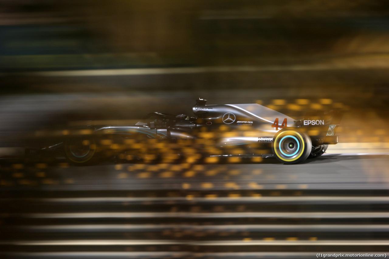 GP BAHRAIN, 08.04.2018 - Gara, Lewis Hamilton (GBR) Mercedes AMG F1 W09
