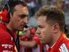 GP BAHRAIN, 08.04.2018 - Gara, Riccardo Adami (ITA) Ferrari Gara Engineer e Sebastian Vettel (GER) Ferrari SF71H