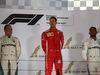 GP BAHRAIN, 08.04.2018 - Gara, 2nd place Valtteri Bottas (FIN) Mercedes AMG F1 W09, Sebastian Vettel (GER) Ferrari SF71H e 3rd place Lewis Hamilton (GBR) Mercedes AMG F1 W09