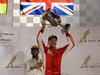GP BAHRAIN, 08.04.2018 - Gara, Sebastian Vettel (GER) Ferrari SF71H vincitore e 3rd place Lewis Hamilton (GBR) Mercedes AMG F1 W09