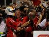 GP BAHRAIN, 08.04.2018 - Gara, Sebastian Vettel (GER) Ferrari SF71H vincitore