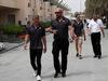 GP BAHRAIN, 05.05.2018 - Kevin Magnussen (DEN) Haas F1 Team VF-18 e Romain Grosjean (FRA) Haas F1 Team VF-18