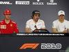 GP BAHRAIN, 05.05.2018 - Conferenza Stampa, Kimi Raikkonen (FIN) Ferrari SF71H, Fernando Alonso (ESP) McLaren MCL33 e Valtteri Bottas (FIN) Mercedes AMG F1 W09
