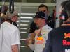 GP BAHRAIN, 07.04.2018 -  Free Practice 3, Helmut Marko (AUT), Red Bull Racing, Red Bull Advisor e Max Verstappen (NED) Red Bull Racing RB14
