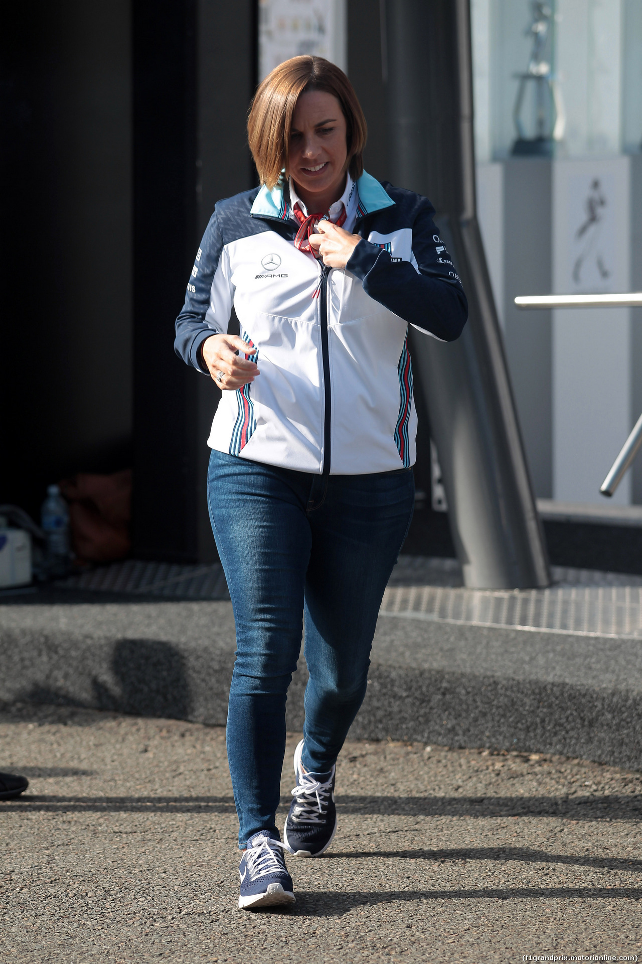 GP BELGIO, 26.08.2018 - Claire Williams (GBR) Williams Deputy Team Principal.