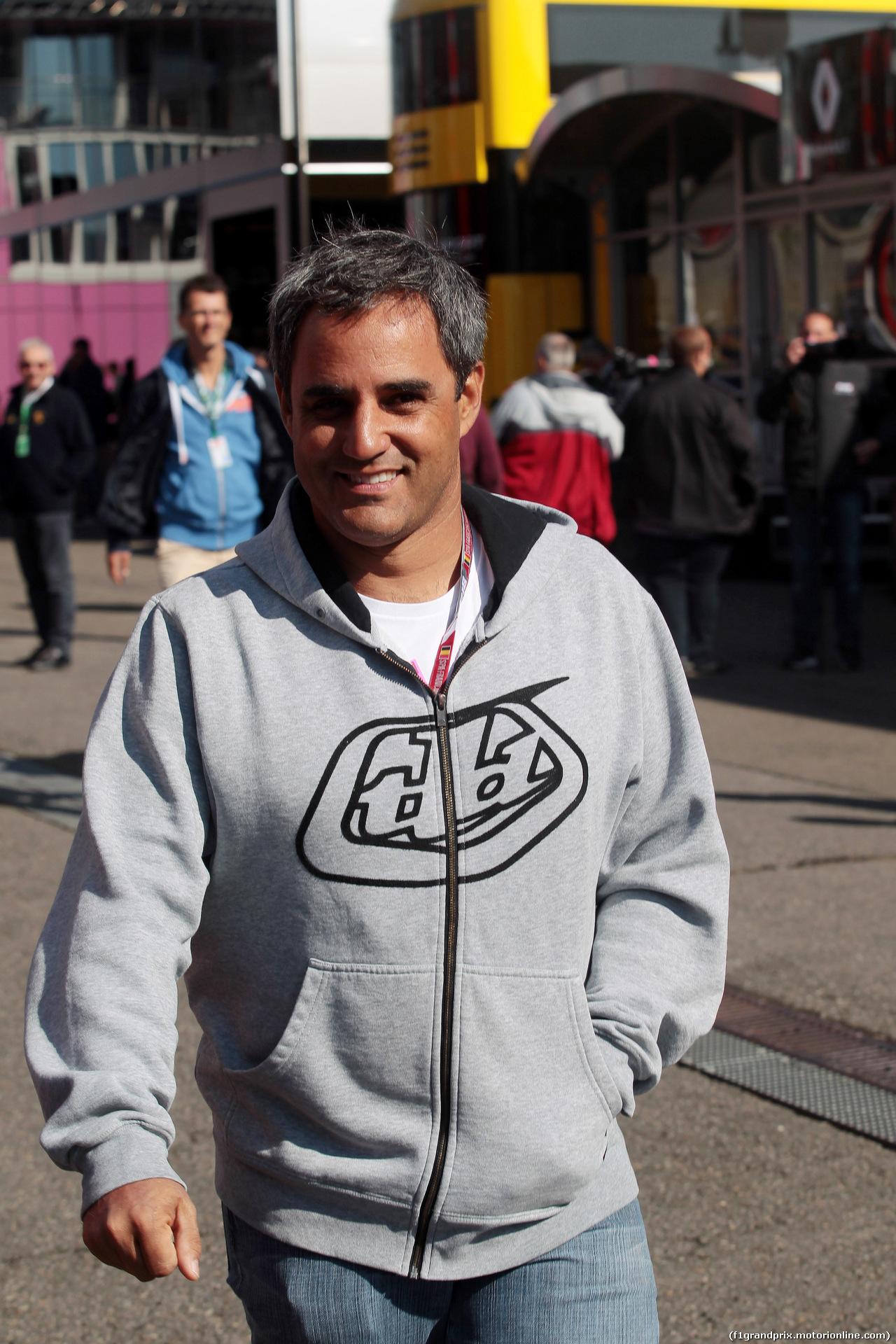 GP BELGIO, 26.08.2018 - Juan Pablo Montoya (COL)