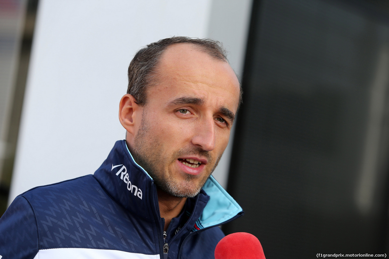 GP BELGIO, 26.08.2018 - Robert Kubica (POL) Williams FW41 Reserve e Development Driver
