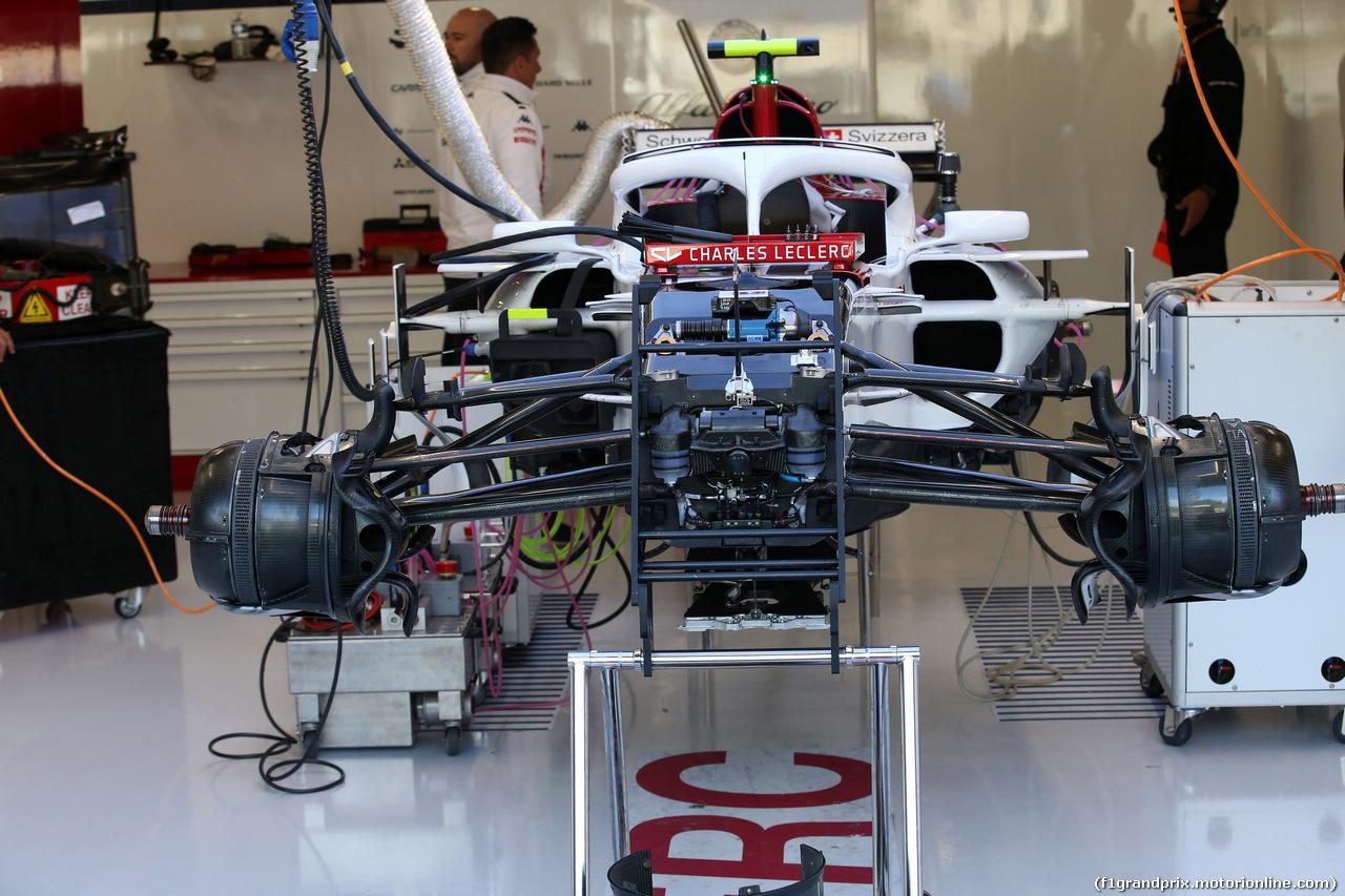 GP BELGIO, 26.08.2018 - Charles Leclerc (MON) Sauber C37