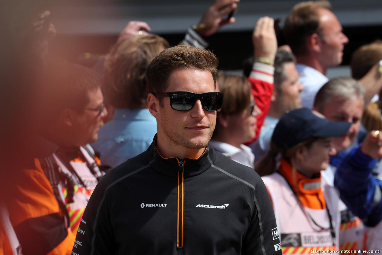 GP BELGIO, 26.08.2018 - Stoffel Vandoorne (BEL) McLaren MCL33