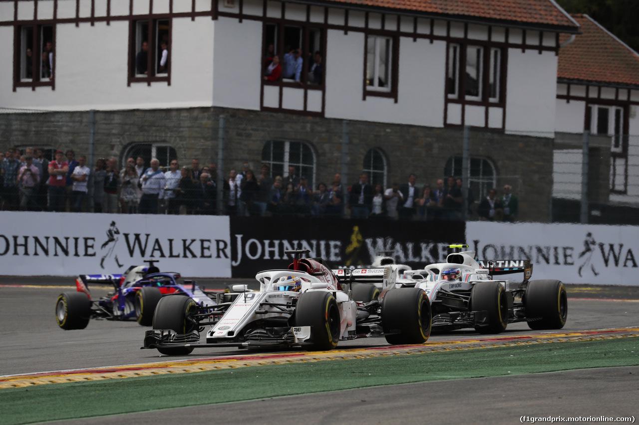 GP BELGIO, 26.08.2018 - Gara, Marcus Ericsson (SUE) Sauber C37