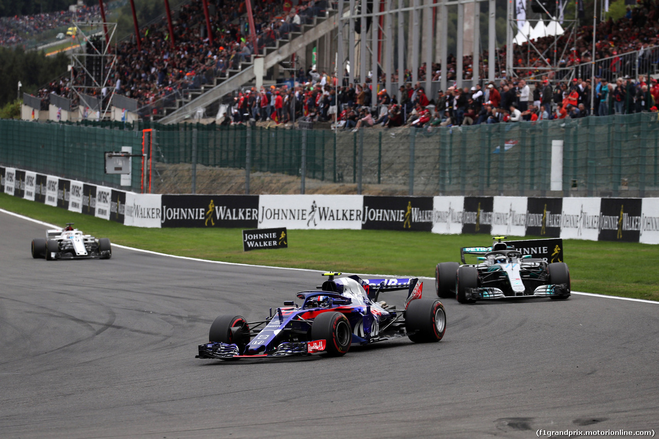 GP BELGIO, 26.08.2018 - Gara, Pierre Gasly (FRA) Scuderia Toro Rosso STR13