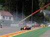 GP BELGIO, 26.08.2018 - Gara, Stoffel Vandoorne (BEL) McLaren MCL33 e Fernando Alonso (ESP) McLaren MCL33 crashed