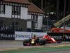 GP BELGIO, 26.08.2018 - Gara, Daniel Ricciardo (AUS) Red Bull Racing RB14 e Kimi Raikkonen (FIN) Ferrari SF71H