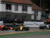 GP BELGIO, 26.08.2018 - Gara, Carlos Sainz Jr (ESP) Renault Sport F1 Team RS18 e Valtteri Bottas (FIN) Mercedes AMG F1 W09