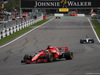 GP BELGIO, 26.08.2018 - Gara, Sebastian Vettel (GER) Ferrari SF71H e Lewis Hamilton (GBR) Mercedes AMG F1 W09