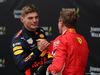 GP BELGIO, 26.08.2018 - Gara, 3rd place Max Verstappen (NED) Red Bull Racing RB14 e Sebastian Vettel (GER) Ferrari SF71H vincitore