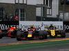 GP BELGIO, 25.08.2018 - Free Practice 3, Daniel Ricciardo (AUS) Red Bull Racing RB14, Max Verstappen (NED) Red Bull Racing RB14 e Nico Hulkenberg (GER) Renault Sport F1 Team RS18