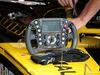 GP BELGIO, 24.08.2018 - Free Practice 1, Nico Hulkenberg (GER) Renault Sport F1 Team RS18, steering wheel