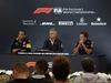 GP BELGIO, 24.08.2018 - Conferenza Stampa, Cyril Abiteboul (FRA) Renault Sport F1 Managing Director, Gil de Ferran (BRA) McLaren Sporting Director e Christian Horner (GBR), Red Bull Racing, Sporting Director