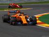 GP BELGIO, 24.08.2018 - Free Practice 2, Stoffel Vandoorne (BEL) McLaren MCL33 e Kimi Raikkonen (FIN) Ferrari SF71H