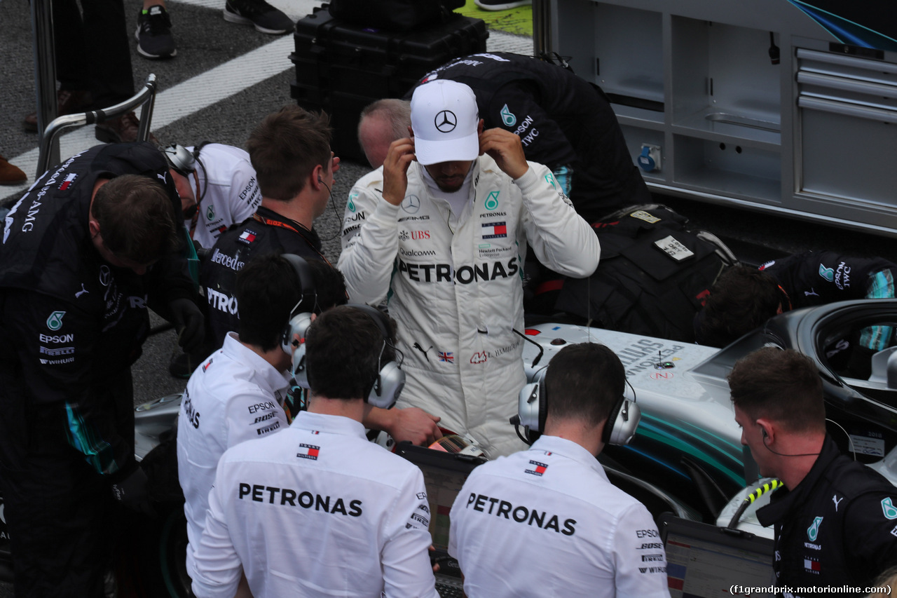 GP BRASILE, 11.11.2018 - Gara, Lewis Hamilton (GBR) Mercedes AMG F1 W09