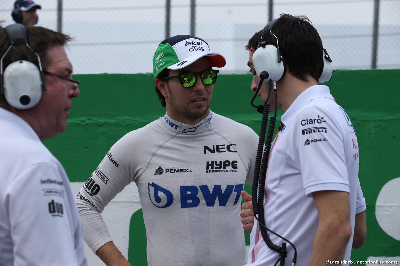 GP BRASILE, 11.11.2018 - Gara, Sergio Perez (MEX) Racing Point Force India F1 VJM11