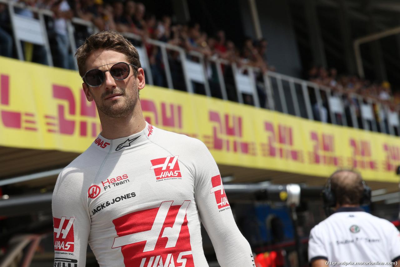 GP BRASILE, 11.11.2018 - Gara, Romain Grosjean (FRA) Haas F1 Team VF-18