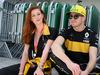 GP BRASILE, 11.11.2018 - Marina Ruy Barbosa (BRA) actress e Nico Hulkenberg (GER) Renault Sport F1 Team RS18