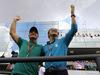 GP BRASILE, 11.11.2018 - Rubens Barrichello (BRA) e Felipe Massa (BRA)