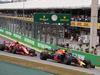 GP BRASILE, 11.11.2018 - Gara, Kimi Raikkonen (FIN) Ferrari SF71H e Max Verstappen (NED) Red Bull Racing RB14