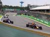 GP BRASILE, 11.11.2018 - Gara, Pierre Gasly (FRA) Scuderia Toro Rosso STR13 e Daniel Ricciardo (AUS) Red Bull Racing RB14