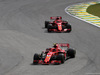 GP BRASILE, 11.11.2018 - Gara, Kimi Raikkonen (FIN) Ferrari SF71H davanti a Sebastian Vettel (GER) Ferrari SF71H