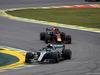 GP BRASILE, 11.11.2018 - Gara, Valtteri Bottas (FIN) Mercedes AMG F1 W09 e Daniel Ricciardo (AUS) Red Bull Racing RB14