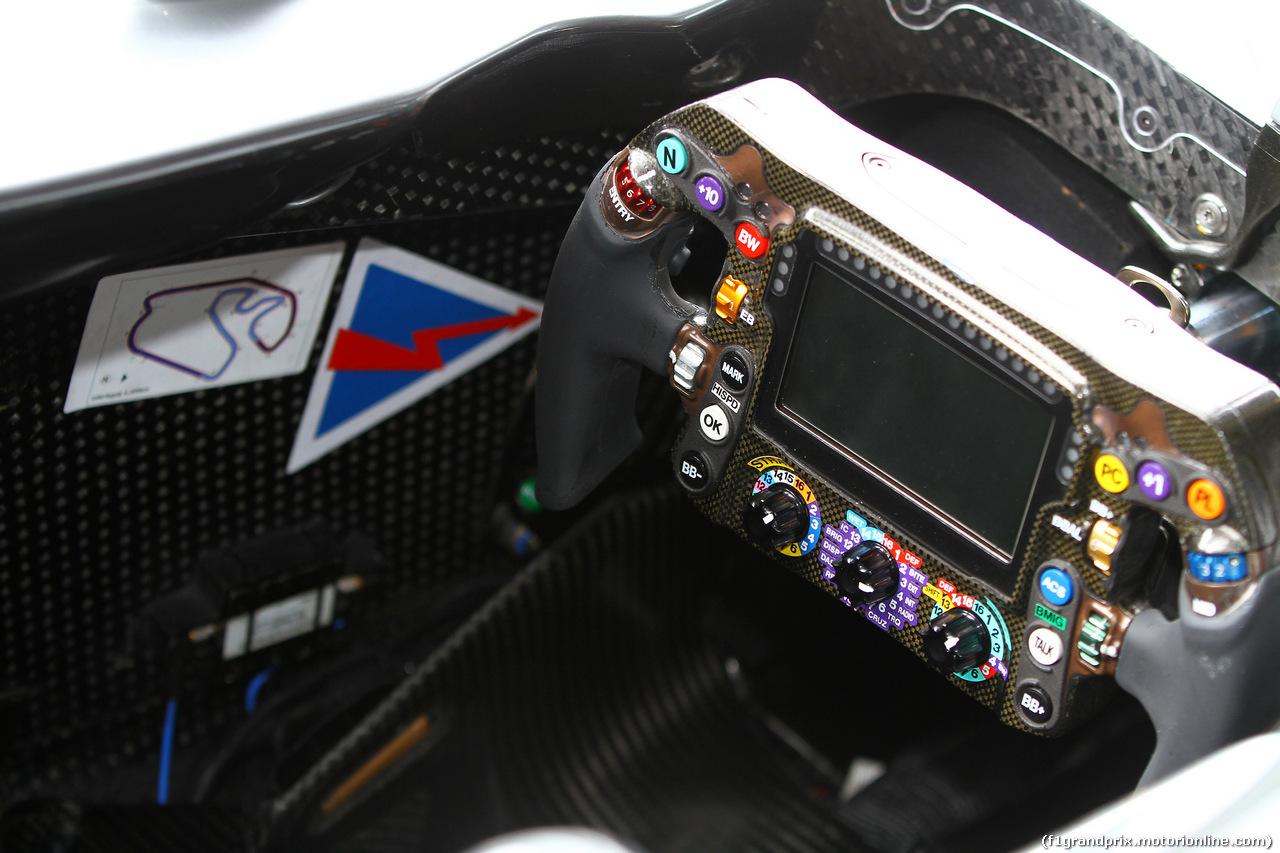 GP BRASILE, 08.11.2018 - Steering wheel of Max Verstappen (NED) Red Bull Racing RB14