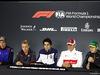 GP BRASILE, 08.11.2018 - Conferenza Stampa, Brendon Hartley (NZL) Scuderia Toro Rosso STR13, Kevin Magnussen (DEN) Haas F1 Team VF-18, Lance Stroll (CDN) Williams FW41, Marcus Ericsson (SUE) Sauber C37 e Stoffel Vandoorne (BEL) McLaren MCL33