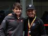 GP BRASILE, 10.11.2018 - Free Practice 3, Emerson Fittipaldi (BRA) e his grandchild Pietro Fittipaldi.