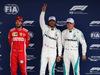 GP BRASILE, 10.11.2018 - Qualifiche, 2nd place Sebastian Vettel (GER) Ferrari SF71H, Lewis Hamilton (GBR) Mercedes AMG F1 W09 pole position e 3rd place Valtteri Bottas (FIN) Mercedes AMG F1 W09