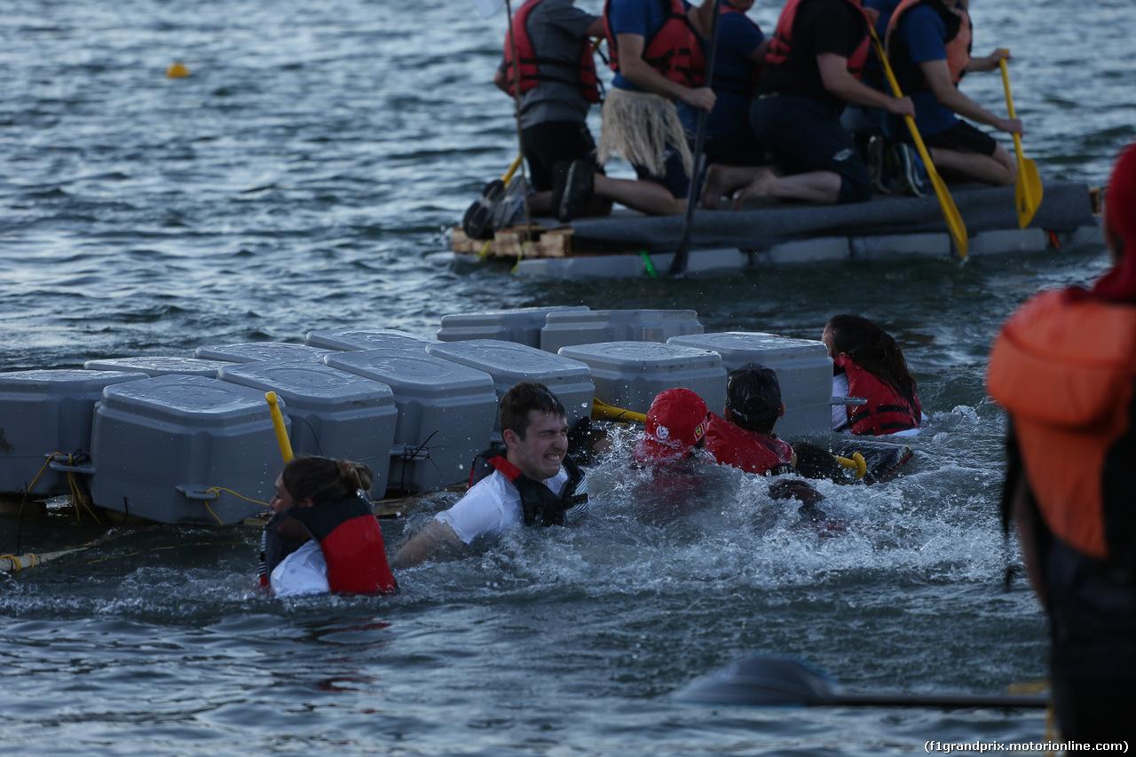 GP CANADA, 09.06.2018- Red Bull Raft Racing