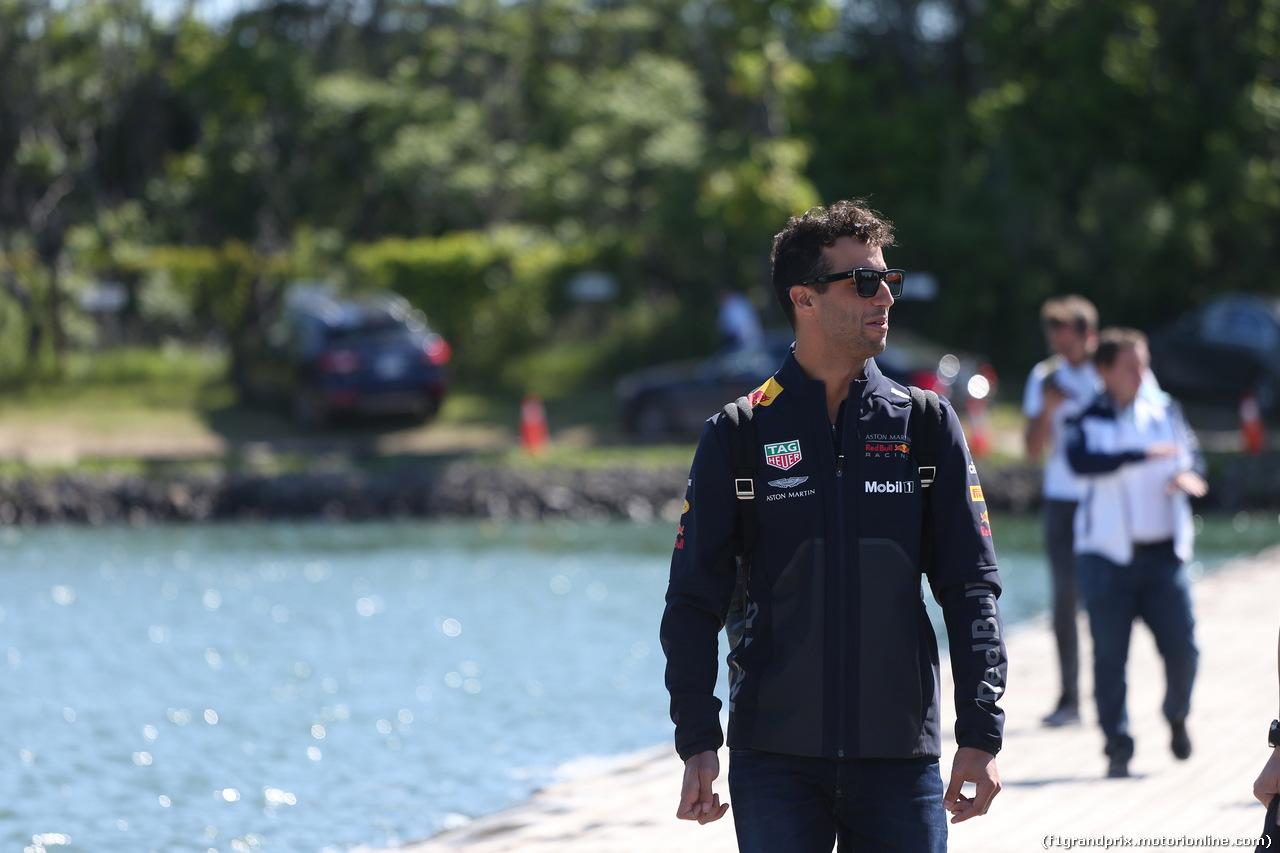 GP CANADA, 10.06.2018- Daniel Ricciardo (AUS) Red Bull Racing RB14